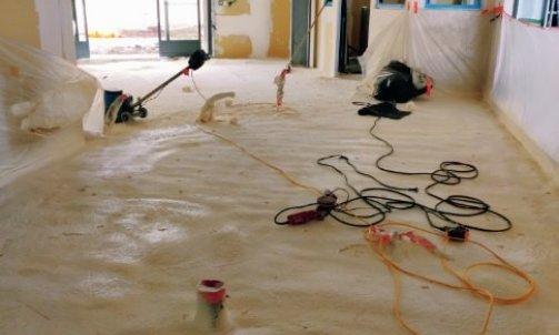 chantier mousse projetée Chamonix